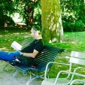Jardin Luxemburgo Paris