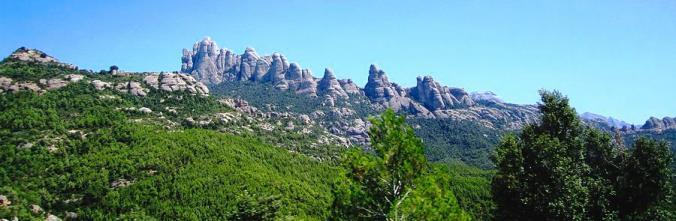 Panoramica de Montserrat
