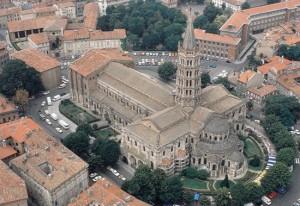 Basilique Saint-Sernin Arquitectura Google Maps