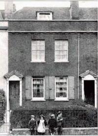 Casa en donde nacio Charles Dickens en 1812 en Portsmouth, Inglaterra
