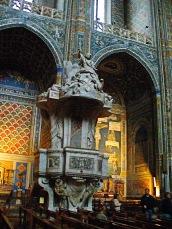 """Púlpito """"cathédrale Sainte-Cécile"""""""