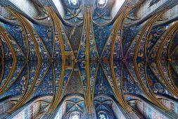 Conjunto pictórico de la bóveda de la catedral.