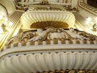 Palcos del teatro Grand Splendid.