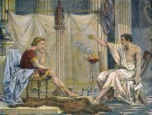 Aristóteles educando al principe Alejandro