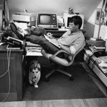 King en su escritorio.