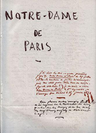 Manuscrito Notre-Dame